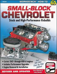 The Chevrolet Small-Block Bible: How to Choose, Buy and Build the ...
