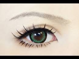 tutorial anime eye makeup 38