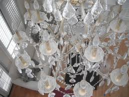 camarillo crystal chandelier cleaning service before