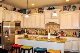 Decorations On Top Of Kitchen Cabinets Impressive Adorable How To Decorate Top Of Kitchen Cabinet Decor On Decorating