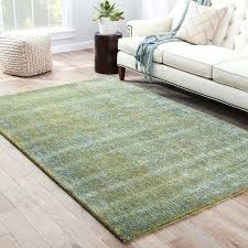 solids heather pattern green blue wool and art silk area rug handmade solid x 9 blue green area rug