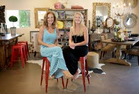 anita o brien left and britt newell are the owners of simply savvy home collection on mankas corner road in the suisun valley