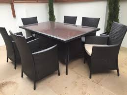 Homebase Kitchen Furniture Homebase Panama Garden Furniture Set 6 Seater As New And Already