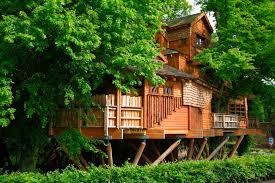 Adventure Play Aerial Walkway Alnwick Gardens  Timberplay  ESI The Treehouse Alnwick