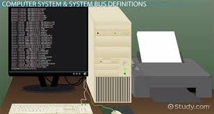 Computer Bus Speed Chart System Bus In Computers Definition Concept
