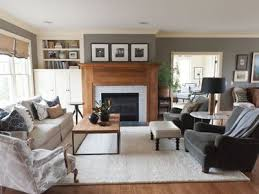 22 beautiful living rooms with fireplaces