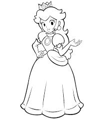 Super Mario Coloring Page Uticureinfo