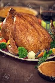 thanksgiving turkey dinner table. Beautiful Dinner Stock Photo  Thanksgiving Turkey Dinner Table Setting For Dinner Table V