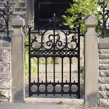 wrought iron fence gate. Wrought Iron Garden Gates Designs Fence Gate