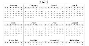 Year To Year Calendar Free 2018 Yearly Calendar Pdf Word Excel Templates Calendar Office