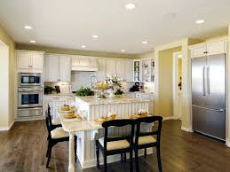Small Kitchen Layout With Island Contemporary Kitchen Elegant And Cozy Kitchen Island Design