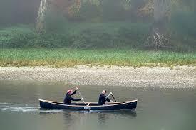 boat, canoeing, kayak, water, nature, lake, landscape, paddle ...