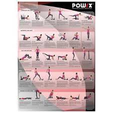 Whole Body Chart Powrx Whole Body Training Chart For Vibration Platform