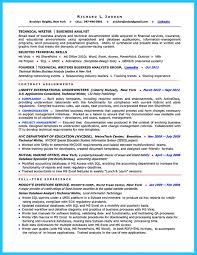 Analyst Resume Examples Of Resumes Sample Business Photo Resume