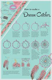 Instructions f0r Making a Dreamcatcher  | Crafty | Pinterest | Dream  catchers, Catcher and Craft