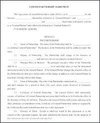 Agreement Contract Simple Business Partnership Template Nz Templates ...