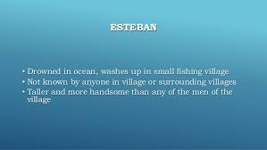 the handsomest drowned man in the world  12 esteban • drowned