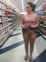 Girls naked in store