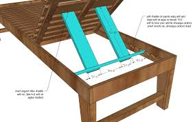 wood chaise lounge chair plans lounge chairs ideas within latest diy outdoor chaise lounge chairs