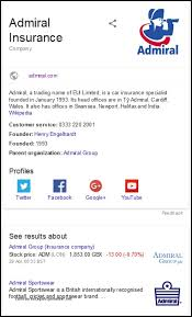 admiral car insurance 0345 number 44billionlater