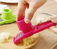 Nalmatoionme Ingwer Und Knoblauch Reibe Für Küche Werkzeug (rot)