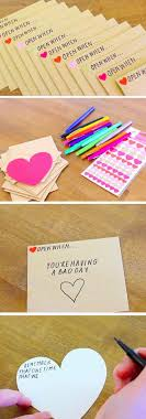 open when envelopes diy gift idea for friends and sweethearts