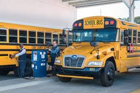 Blue Bird Vision Gasoline School Bus Certified By Epa Carb
