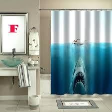 jaws shower curtain shark jaws shower curtain jaws shower curtain