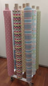 fabric 9 roll stand vertical