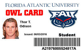 Atlantic Idviking – Id Florida fau University Best Student dwqxWvUO