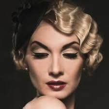 1920s hair and makeup inspired makeup ideas