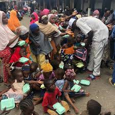 Feeding The Less Privileged At Agege Lagos – Anikep Foundation