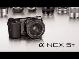 sony nex. sony nex-5t unveiled (16.1mp aps-c, nfc, wifi, nex