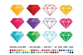 Svg accessibility svg animation vue components vuex store. Diamond Clip Art Set Png Svg Vector Rainbow Color Crystal Etsy Clip Art Crystal Shapes Art Set