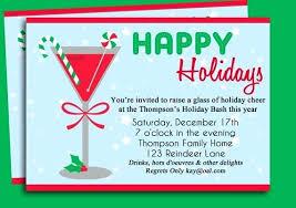 Christmas Invitation Ideas Holiday Party Invitation Ideas To Enrich