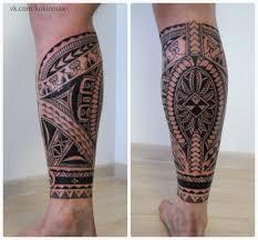 орнамент на ногу Kokin Max Tattoo