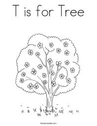 Small Picture Tree Flower Coloring Pages Coloring Pages