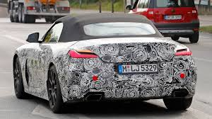 2018 bmw production schedule. exellent schedule foureyed roadster latest 2018 bmw z4 spy shots show production lights  with bmw schedule