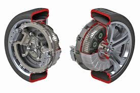 electric car motor. Plain Car Electric Wheel Motor Unit As  To Car Motor
