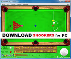 snooker game for windows pc