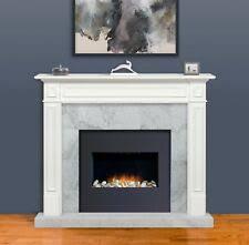 White fireplace mantel surround White Molding Pearl Mantel 64 Ebay Fireplace Mantels Surrounds Ebay
