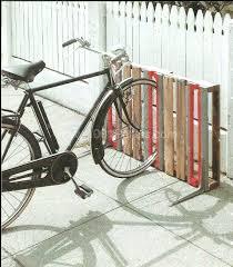 full image for 14 ways of reusing old wooden pallets as bike racksfour rack garage diy