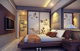 modern bedroom wall decoration in architects wood