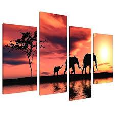 elephant canvas wall art for sale