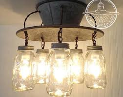 mason jar track lighting. FLUSH MOUNT Ceiling Light Lamp Goods\u0027 Exclusive Mason Jar Fixture 5-Light - Track Lighting I