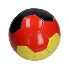 Fussball ist die sportart nummer 1 und somit auch in unserem verzeichnis der vereine am grössten und populärsten. Fussball Deutschland Gross Maschinengenaht Ohne Karton Deutschland Farben Erfolgreiche Werbeartikel