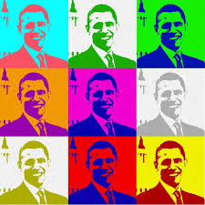 obama andy warhol pop art style barack obama andy warhol pop art style