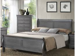 Louis Bedroom Furniture Lifestyle 4934 Louis Philippe Gray 5 Pc King Bedroom Set