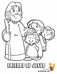 Thousands of printable coloring pages, for kids and adults! Fight Of Faith Bible Coloring Jesus Free Coloring Bible Story