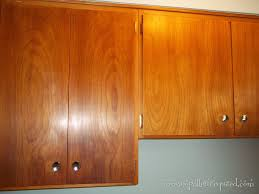 Cleaning Oak Kitchen Cabinets Restoring Mid Century Wood Cabinets To Clean And Restore The